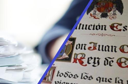 COMBINADO: CONSTITUCIÓN TÍTULO PRELIMINAR Y PRIMERO + LEY PROCEDIMIENTO ADM. COMÚN